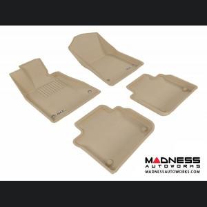 Lexus GS350 Floor Mats (Set of 4) - Tan by 3D MAXpider