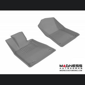 Lexus GS350 Floor Mats (Set of 2) - Front - Gray by 3D MAXpider
