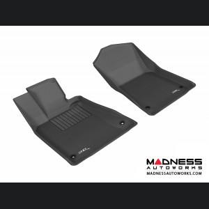 Lexus GS350 Floor Mats (Set of 2) - Front - Black by 3D MAXpider
