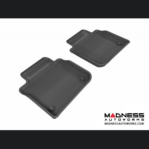 Lexus GS350 Floor Mats (Set of 2) - Rear - Black by 3D MAXpider