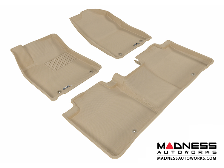 Lexus ES350 Floor Mats (Set Of 3)   Tan By 3D MAXpider