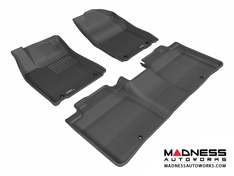 Lexus ES350 Floor Mats (Set Of 3)   Black By 3D MAXpider
