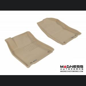 Lexus ES350 Floor Mats (Set of 2) - Front - Tan by 3D MAXpider
