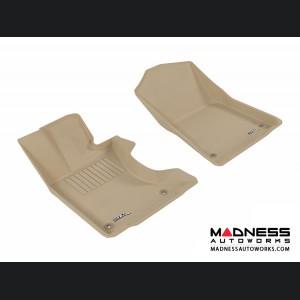 Lexus GS350 Floor Mats (Set of 2) - Front - Tan by 3D MAXpider