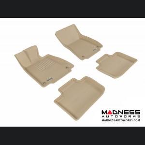 Lexus IS250/ IS350 Floor Mats (Set of 4) - Tan by 3D MAXpider