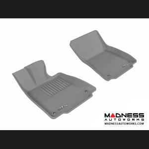 Lexus IS250/ IS350 Floor Mats (Set of 2) - Front - Gray by 3D MAXpider