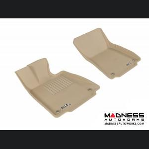 Lexus IS250/ IS350 Floor Mats (Set of 2) - Front - Tan by 3D MAXpider