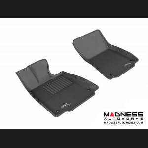 Lexus IS250/ IS350 Floor Mats (Set of 2) - Front - Black by 3D MAXpider