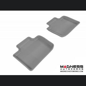 Lexus IS250/ IS350 Floor Mats (Set of 2) - Rear - Gray by 3D MAXpider