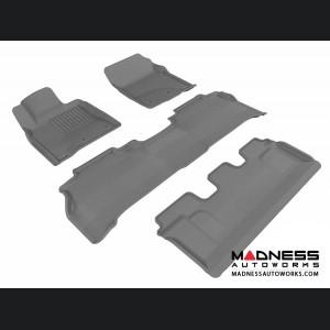 Lexus LX570 Floor Mats (Set of 4) - Gray by 3D MAXpider