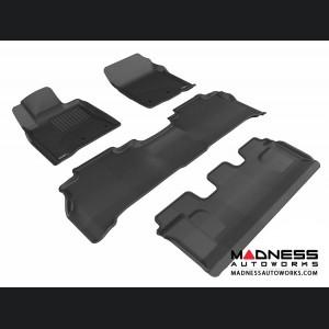 Lexus LX570 Floor Mats (Set of 4) - Black by 3D MAXpider