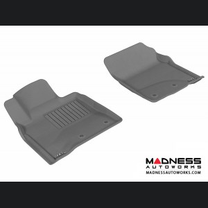 Toyota Land Cruiser Floor Mats (Set of 2) - Front - Gray by 3D MAXpider