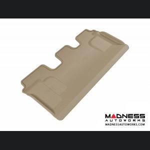 Toyota Land Cruiser Floor Mat - 3rd Row - Tan by 3D MAXpider