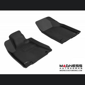 Lexus RX350/ RX330 Floor Mats (Set of 2) - Front - Black by 3D MAXpider