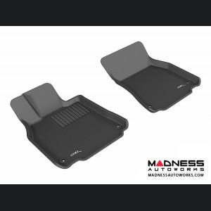 Lexus LS460/ LS460L Floor Mats (Set of 2) - Front - Black by 3D MAXpider