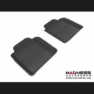 Lexus LS460L/ LS600HL Floor Mats (Set of 2) - Rear - Black by 3D MAXpider