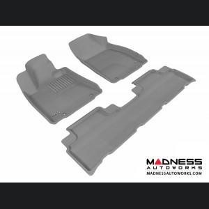 Lexus RX350/ RX450H Floor Mats (Set of 3) - Gray by 3D MAXpider