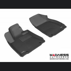 Lexus RX350/ RX450H Floor Mats (Set of 2) - Front - Black by 3D MAXpider