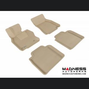 Lexus LS600HL Floor Mats (Set of 4) - Tan by 3D MAXpider