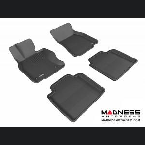 Lexus LS600HL Floor Mats (Set of 4) - Black by 3D MAXpider