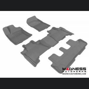 Lexus GX460 Floor Mats (Set of 4) - Gray by 3D MAXpider