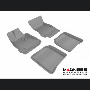 Mercedes-Benz S-Class (W221) Floor Mats (Set of 4) - Gray by 3D MAXpider
