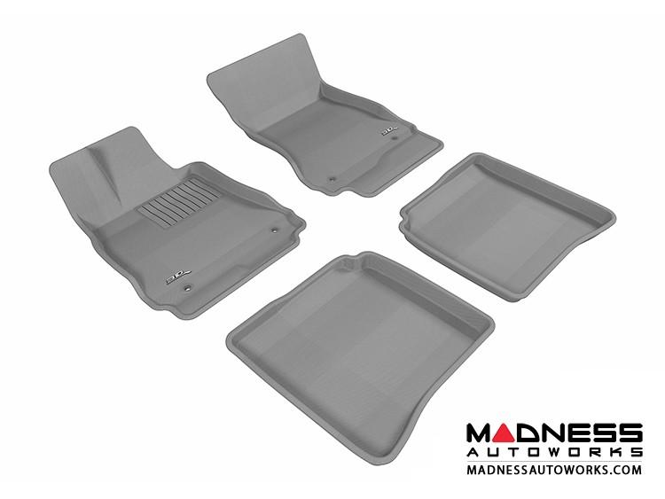 Mercedes-Benz S-Class (W221) Floor Mats (Set of 4) - Gray by 3D MAXpider