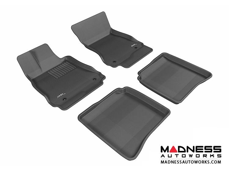 Mercedes-Benz S-Class (W221) Floor Mats (Set of 4) - Black by 3D MAXpider