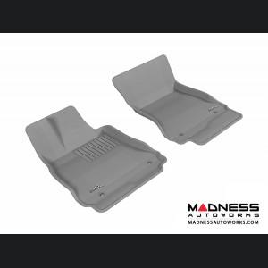 Mercedes-Benz S-Class (W221) Floor Mats (Set of 2) - Front - Gray by 3D MAXpider