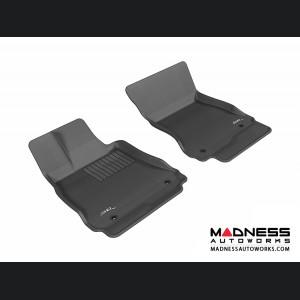 Mercedes-Benz S-Class (W221) Floor Mats (Set of 2) - Front - Black by 3D MAXpider