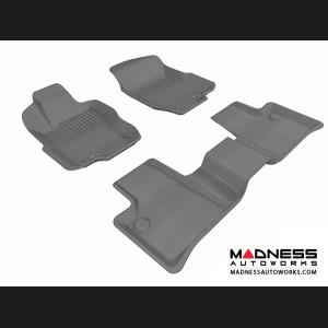 Mercedes Benz ML-Class (W164) Floor Mats (Set of 3) - Gray by 3D MAXpider