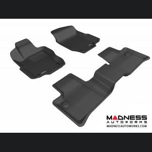 Mercedes Benz ML-Class (W164) Floor Mats (Set of 3) - Black by 3D MAXpider