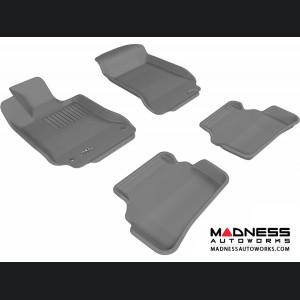 Mercedes Benz C-Class (W204) Sedan Floor Mats (Set of 4) - Gray by 3D MAXpider