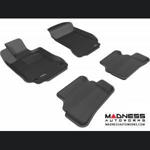 Mercedes Benz C-Class (W204) Sedan Floor Mats (Set of 4) - Black by 3D MAXpider