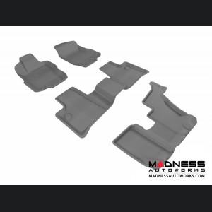 Mercedes Benz GL-Class (X164) Floor Mats (Set of 4) - Gray by 3D MAXpider