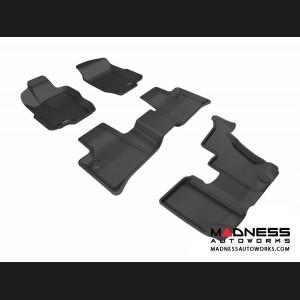 Mercedes Benz GL-Class (X164) Floor Mats (Set of 4) - Black by 3D MAXpider