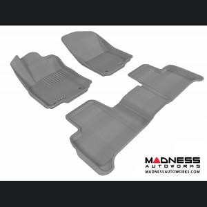 Mercedes Benz ML-Class (W166) Floor Mats (Set of 3) - Gray by 3D MAXpider