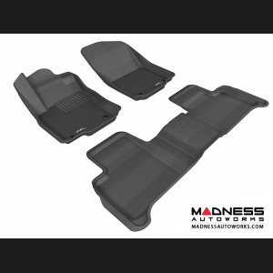 Mercedes Benz ML-Class (W166) Floor Mats (Set of 3) - Black by 3D MAXpider