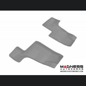 Mercedes Benz GL-Class (X166) Floor Mat (Set of 2) - 3rd Row - Gray by 3D MAXpider