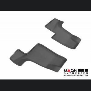 Mercedes Benz GL-Class (X166) Floor Mat (Set of 2) - 3rd Row - Black by 3D MAXpider