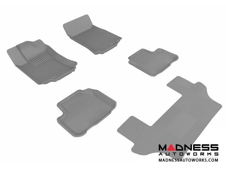 Mercedes-Benz R300/ R350/ R500 Floor Mats (Set of 5) - Gray by 3D MAXpider