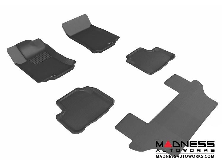Mercedes-Benz R300/ R350/ R500 Floor Mats (Set of 5) - Black by 3D MAXpider