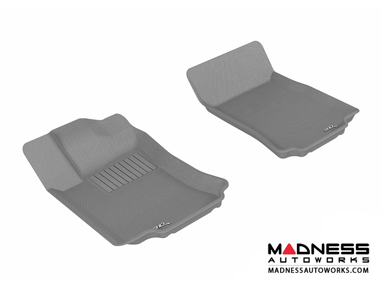 Mercedes-Benz R300/ R350/ R500 Floor Mats (Set of 2) - Front - Gray by 3D MAXpider