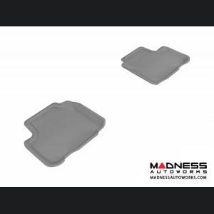 Mercedes-Benz R300/ R350/ R500 Floor Mats (Set of 2) - Rear - Gray by 3D MAXpider
