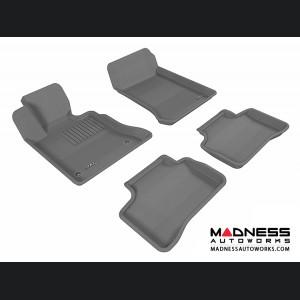 Mercedes Benz GLK-Class Floor Mats (Set of 4) - Gray by 3D MAXpider