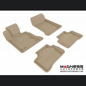 Mercedes Benz GLK-Class Floor Mats (Set of 4) - Tan by 3D MAXpider