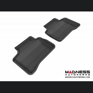 Mercedes Benz GLK-Class Floor Mats (Set of 2) - Rear - Black by 3D MAXpider