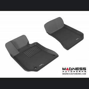 Mercedes Benz E-Class (C207) Coupe/ Convertible Floor Mats (Set of 2) - Front - Black by 3D MAXpider
