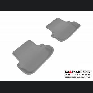 Mercedes Benz E-Class (C207) Coupe/ Convertible Floor Mats (Set of 2) - Rear - Gray by 3D MAXpider