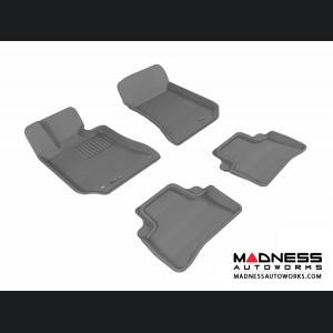 Mercedes Benz E-Class (W212) Sedan Floor Mats (Set of 4) - Gray by 3D MAXpider